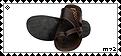Sandals Stamp by Meztli72