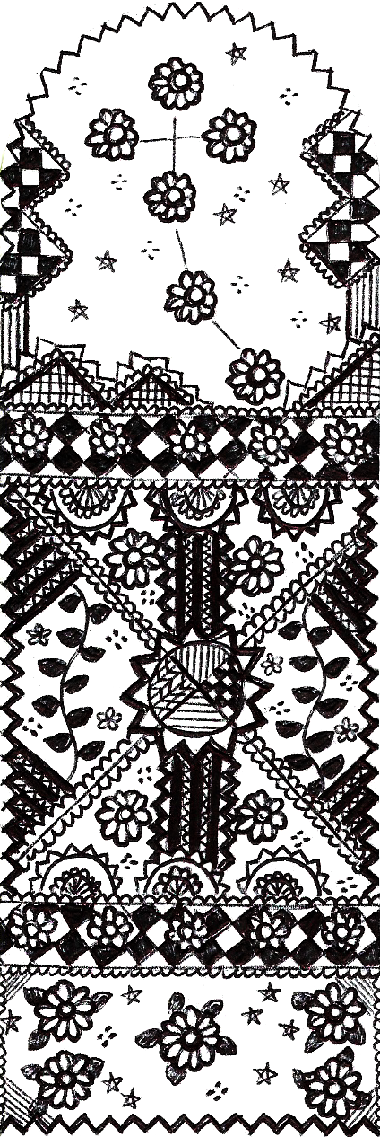 The Southern Cross (Page Marker 12) by Meztli72