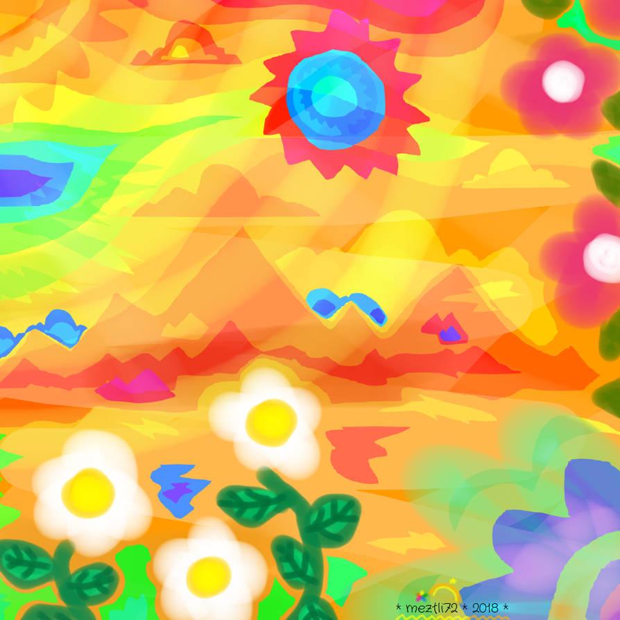 Warmness Under The Blue Sun