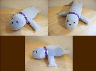 Seal Sock Pet by BloodWolf19