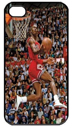 Michael Jordan Slam Dunk Iphone 4 Case By Daisydiy