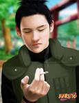 : shikamaru smoking :