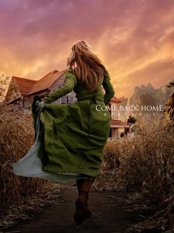 Come Back Home by djaledit