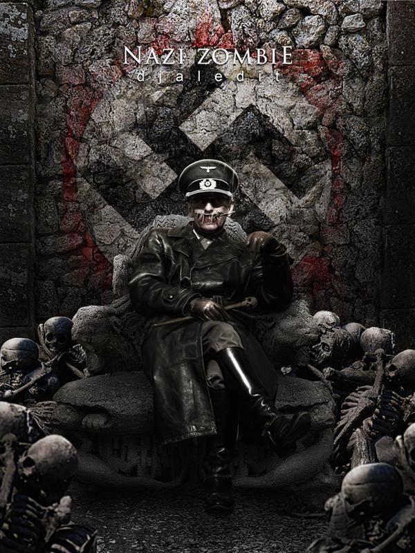 Nazi zombie by djaledit