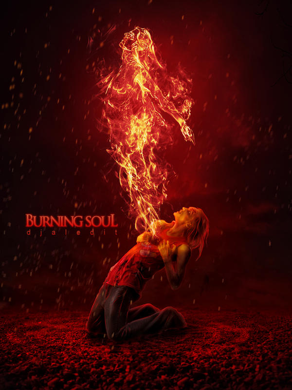 Burning soul by djaledit