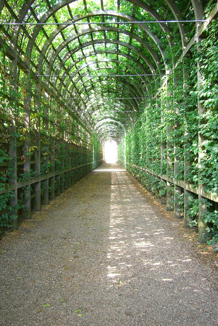 Walkway by Ginnyhaha-Stock