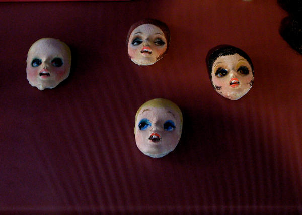 Dolls' Heads 2 by Ginnyhaha-Stock