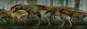 THEROPODS OF THE JURASSIC PERIOD