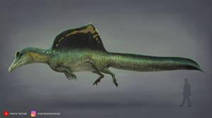 SPINOSAURUS 2020. new more aquatic focused model