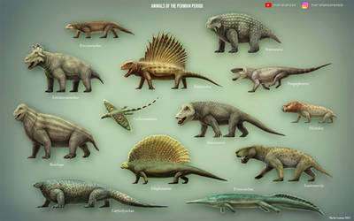 Animals of the Permian Period