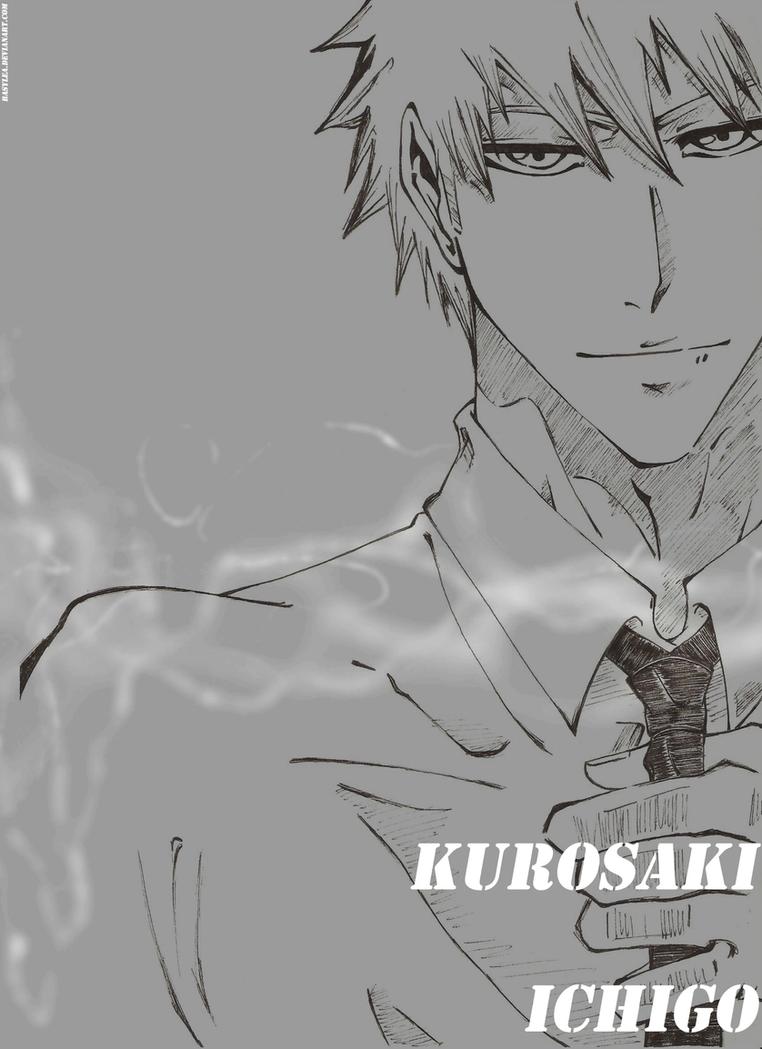 Galeria Basi - Página 6 Kurosaki_ichigo_by_basylea-d4s0lg1