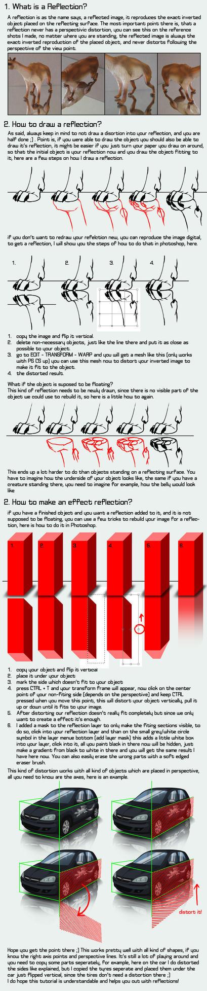 Reflection - Tutorial by Lizkay