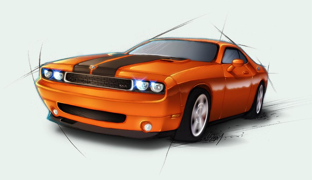 Dodge Challenger SRT by Lizkay