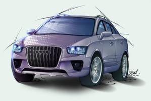 Audi Cross Quattro Study by Lizkay