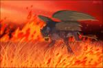 This land may burn...