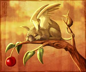 Cherry Guard by Lizkay