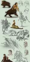 Sketch Compilation 4Q2013