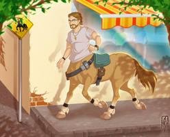 sidran32 - digital character commission by Lizkay
