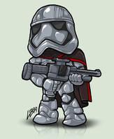 TinyTroopers - Captain Phasma by Lizkay