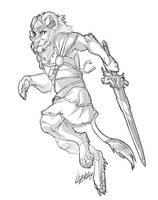 DA Raffle Winner Sketch 02 by Lizkay
