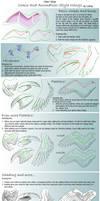 How I draw Comic Wings