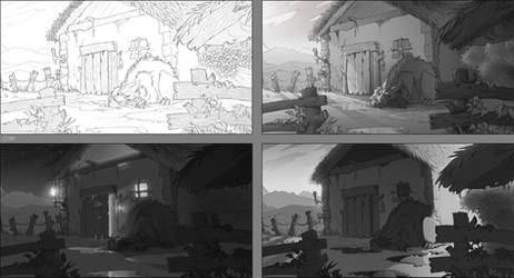 Just guarding - value study