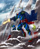 stormy ambush - digital character commission