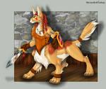 Celtic WolfTaur Maiden