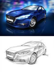 Mazda3 - DeepBlue