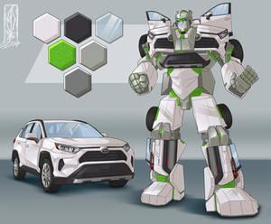 Transform-ication - Commission - Toyota RAV4