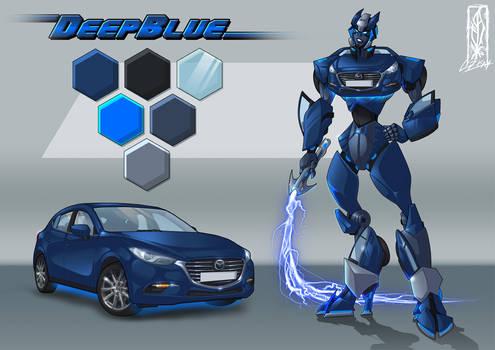Transform-ication - Commission - Mazda 3 DeepBlue