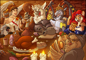 Tavern Feast - YCH