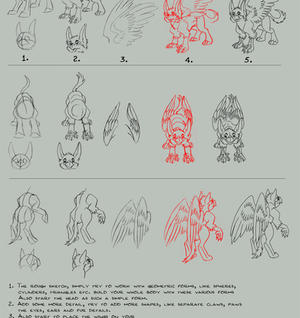 Simplified Gryphon Tutorial by Lizkay