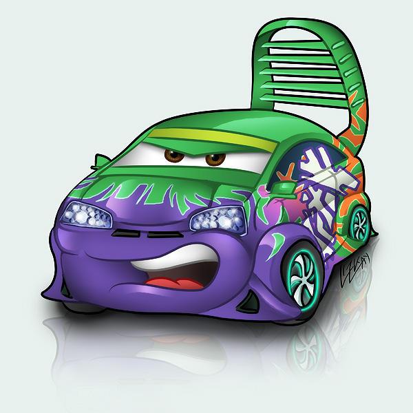 фото мультяшных машин