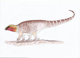 Male Tenontosaurus sp. (RubyRanch/Mussentuchit) by PhanerozoicWild