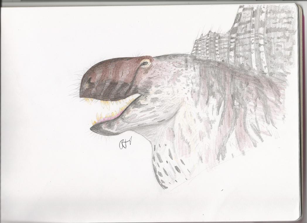 Dimetrodon by PhanerozoicWild