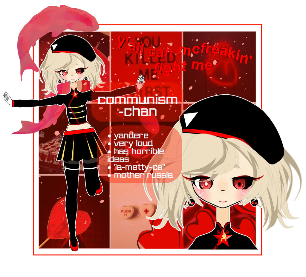 ~aesthetic challenge~ communism-chan by kawaois