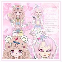 ~food gijinka challenge: circus animal crackers~ by kawaois