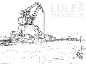 Lulea' Harbour by dhjarven