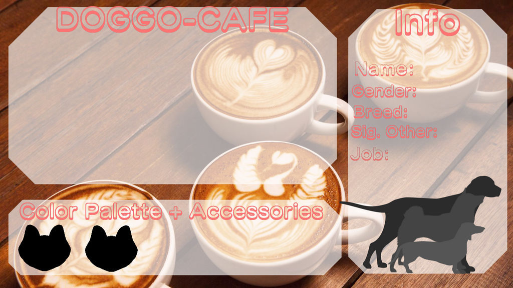 Doggo-cafe || NEW APPLICATION by N0ctuary on DeviantArt