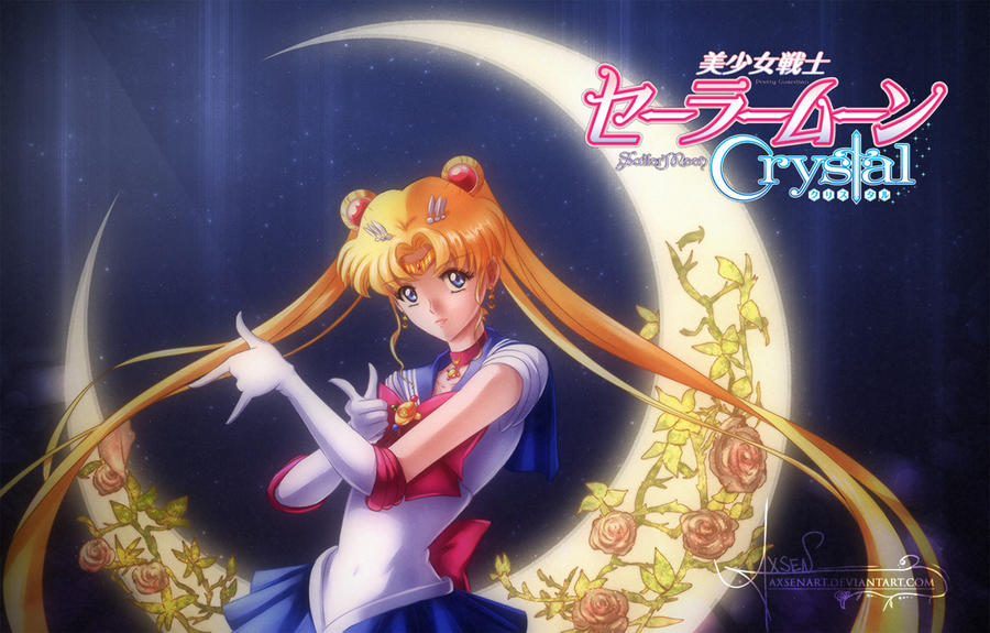 Sailor Moon Crystal by AxsenArt