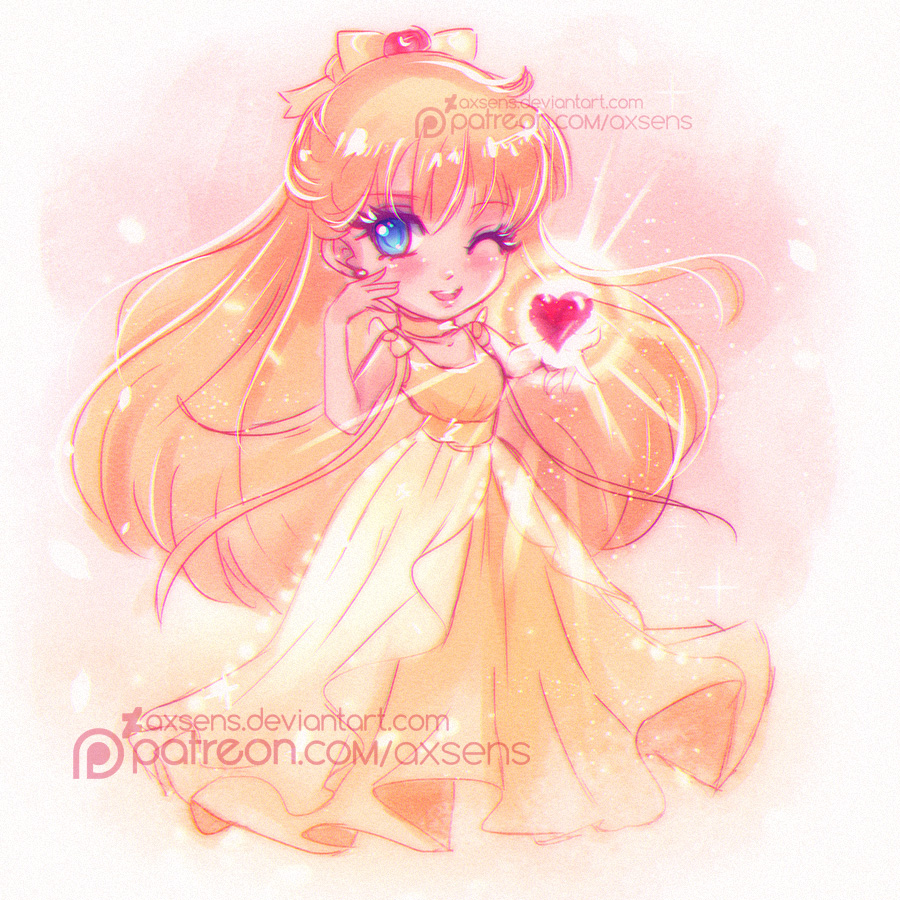 Small Lady Of Love by Axsens