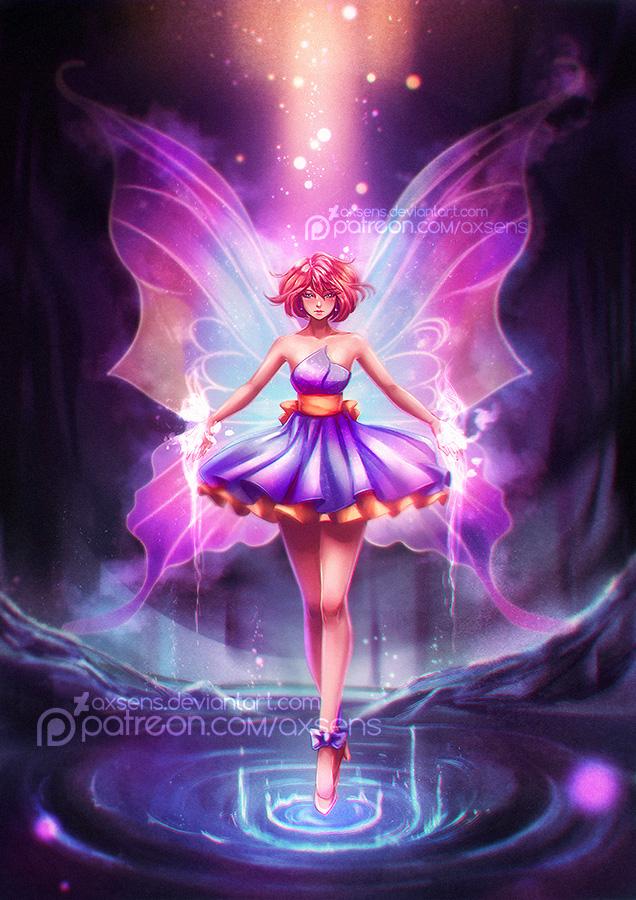 Little Butterfly by Axsens