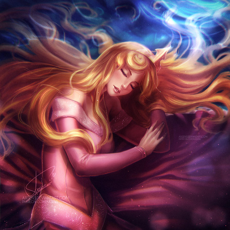 Sleeping Beauty by Axsens