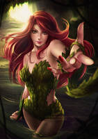 Poison Ivy.nsfw optional. by Axsens