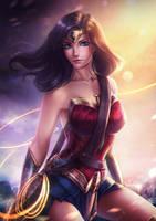 Wonder Woman.nsfw optional. by Axsens