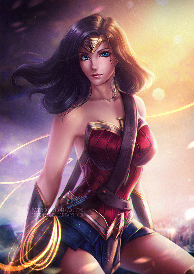 Wonder Woman.nsfw optional. by Axsens