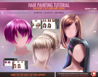 Hair Painting Tutorial by Axsens