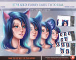 Stylized Furry Ears Tutorial