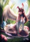 Easter Bunny D.Va .nsfw opt.